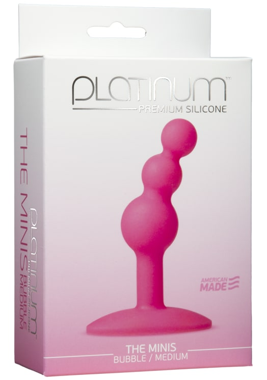 Platinum™ Premium Silicone - The Minis - Bubble - Medium Image 3