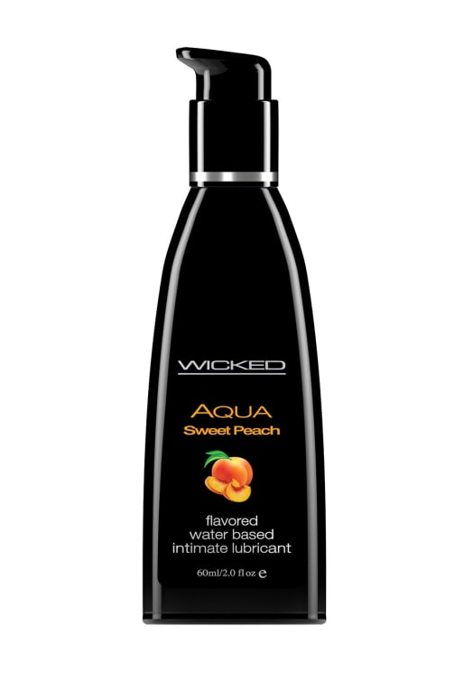 Wicked Aqua Sweet Peach Lubricant Image 0