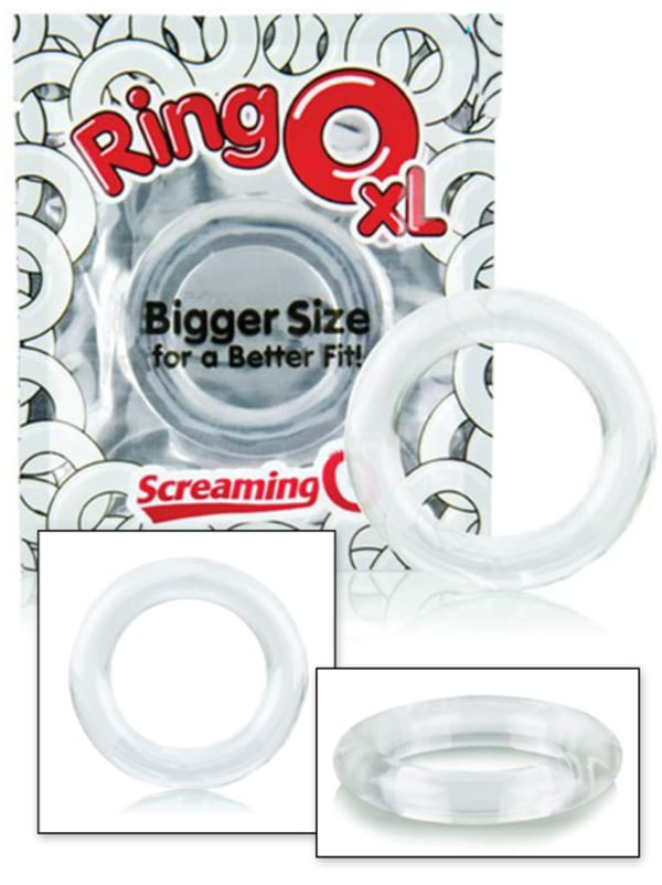 RingO XL Stretchy Cock Ring Image 0