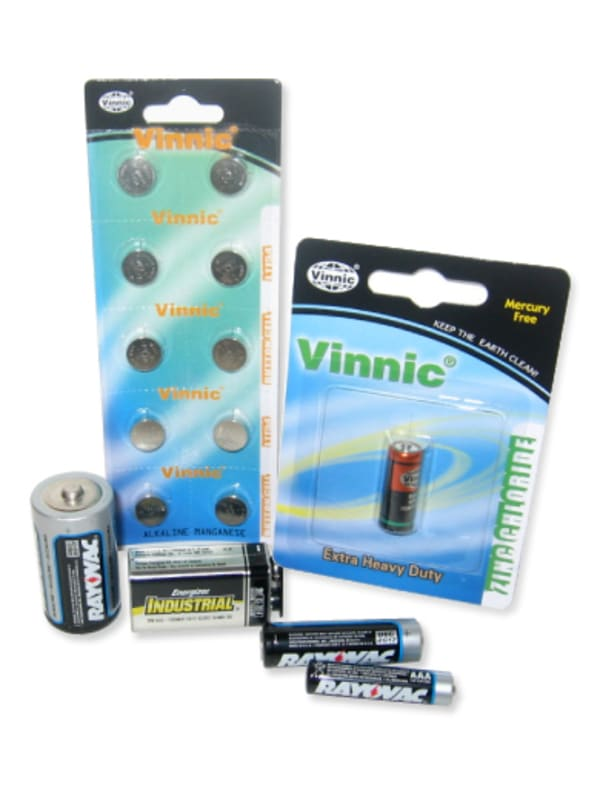 Batteries – AA, AAA, AAAA, Watch, C, N, Nine-Volt Image 0