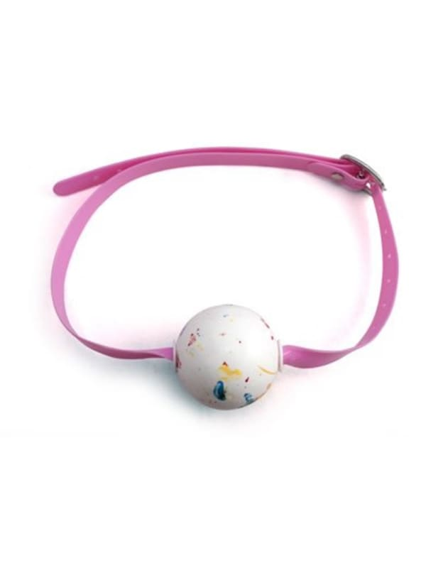 Sweet Lips Candy Ball Gag Image 0