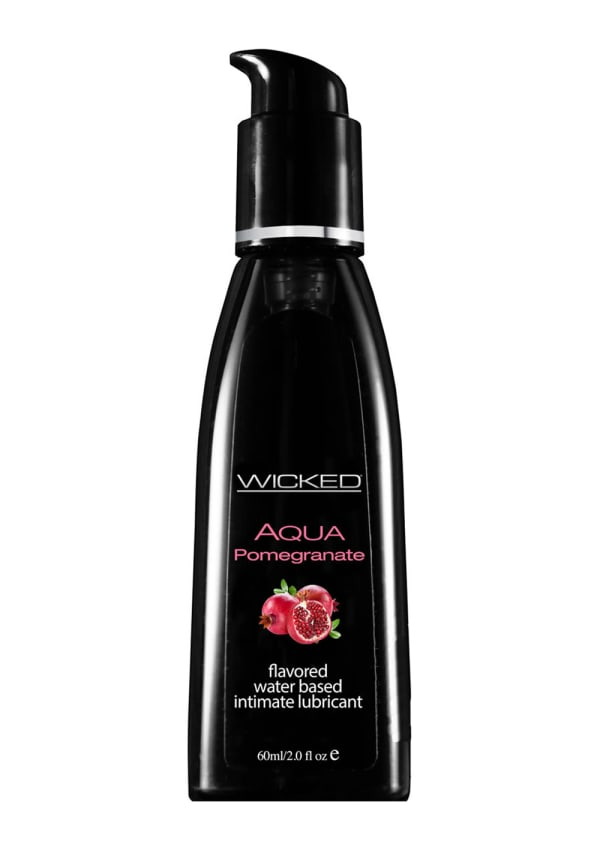 Wicked Sensual Aqua Pomegranate Water-Based Lubricant Image 1