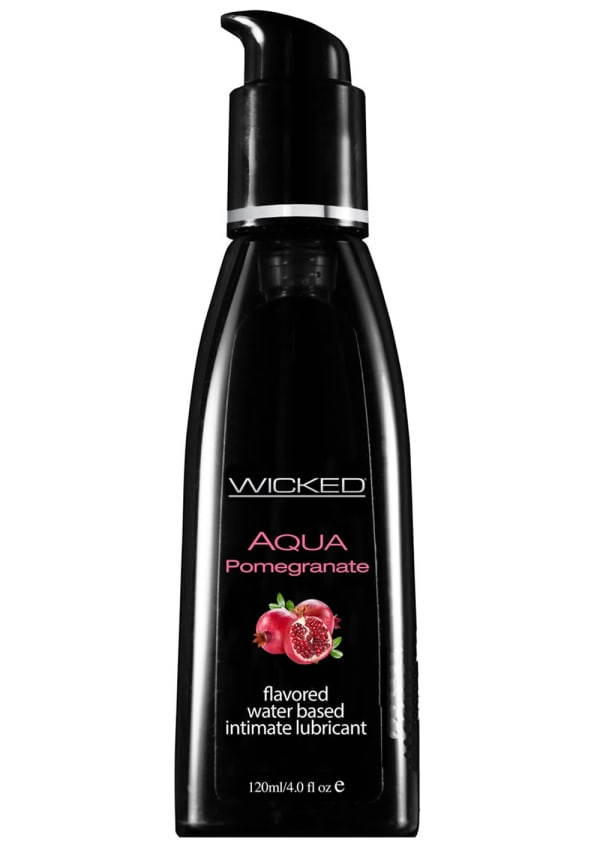 Wicked Sensual Aqua Pomegranate Water-Based Lubricant Image 0