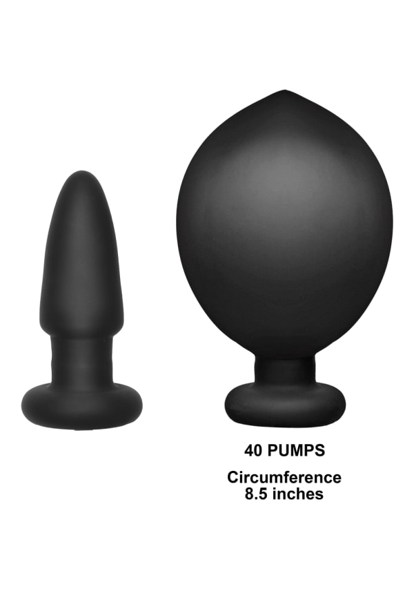 Deluxe Wonder Plug - Inflatable Vibrating Butt Plug Image 1