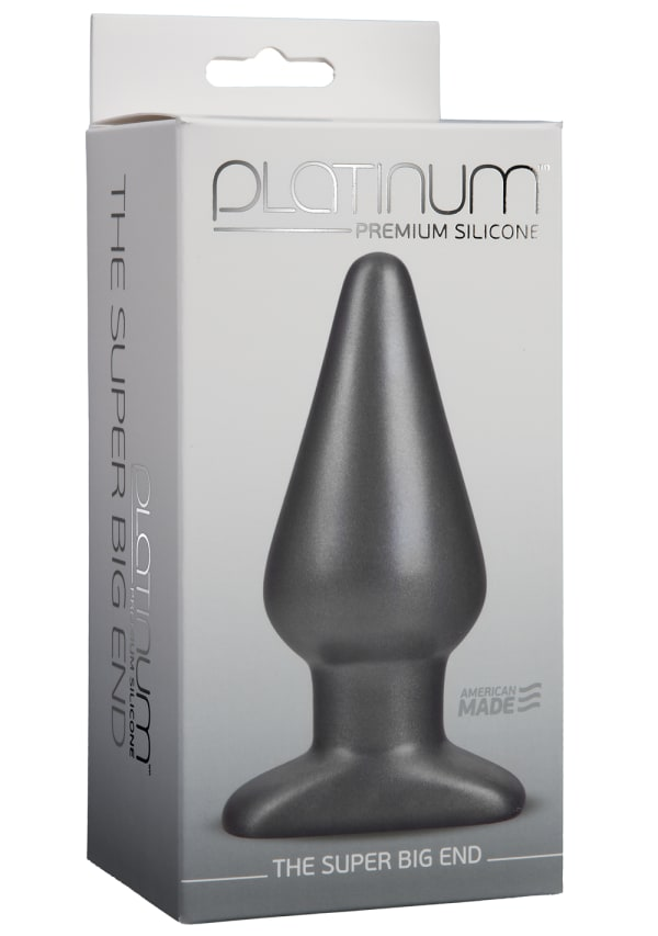 Platinum™ Premium Silicone - The Super Big End Image 1