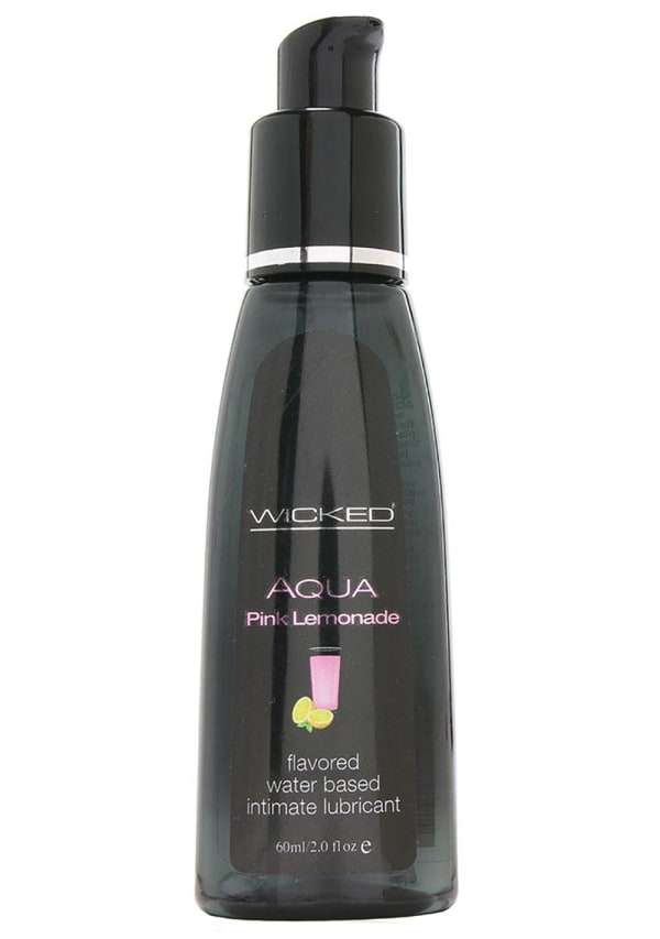 Wicked Sensual Care Aqua Pink Lemonade Lubricant Image 0