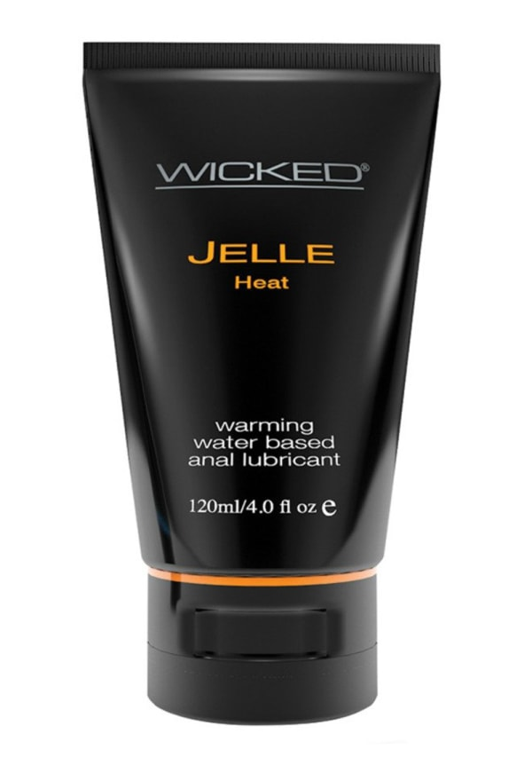 Wicked Jelle Water Based Anal Lubricant - Heat Image 0