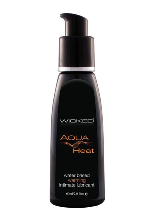 Wicked Aqua Heat Warming Lube Image 1