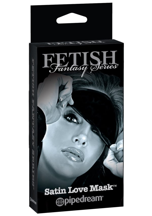 Fetish Fantasy Limited Edition Satin Love Mask Image 1