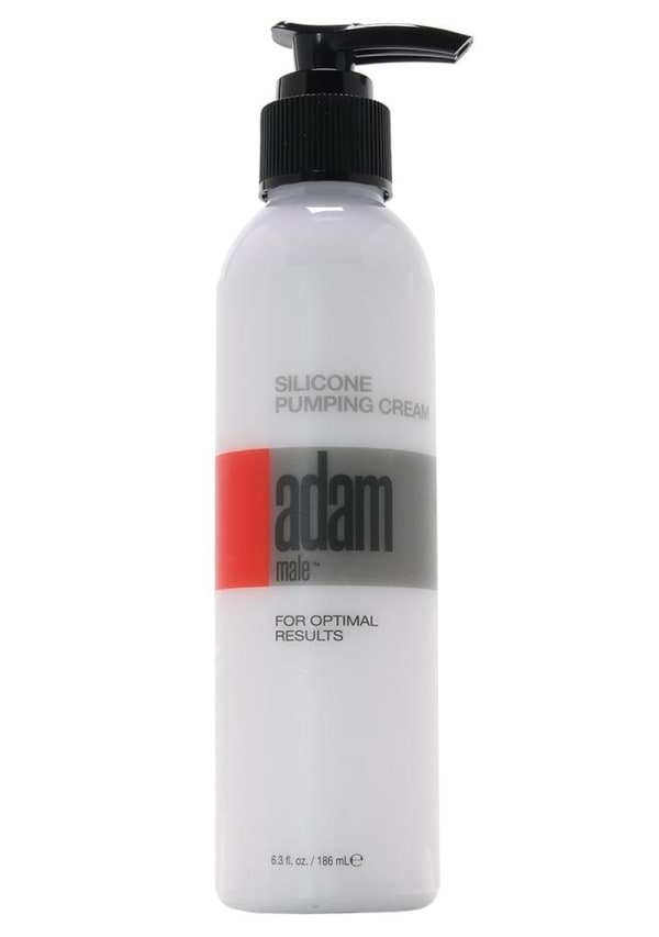 Adam Male Silicone Pumping Cream Image 0