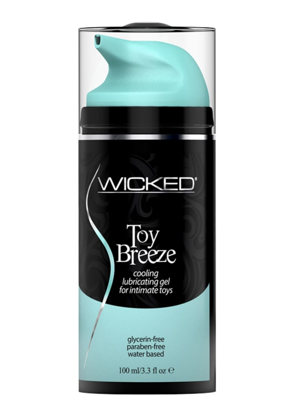 Wicked Toy Breeze Cooling Lubricating Gel for Intimate Toys Image 0