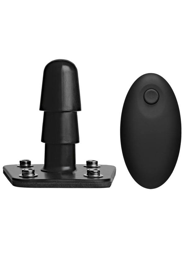 Vac-U-Lock™ Vibrating Plug with Wireless Remote Image 0