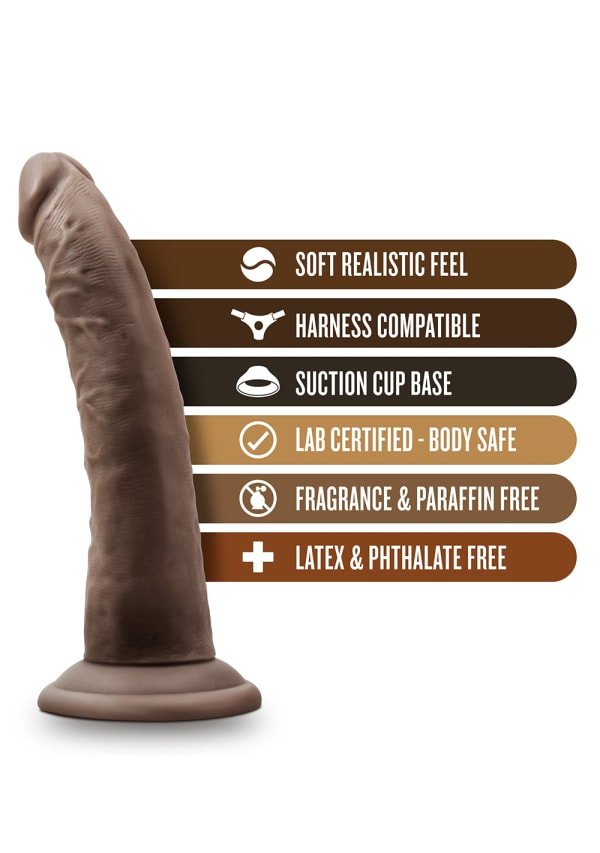 "Dr. Skin - 7"" Cock with Suction Cup Image 16"