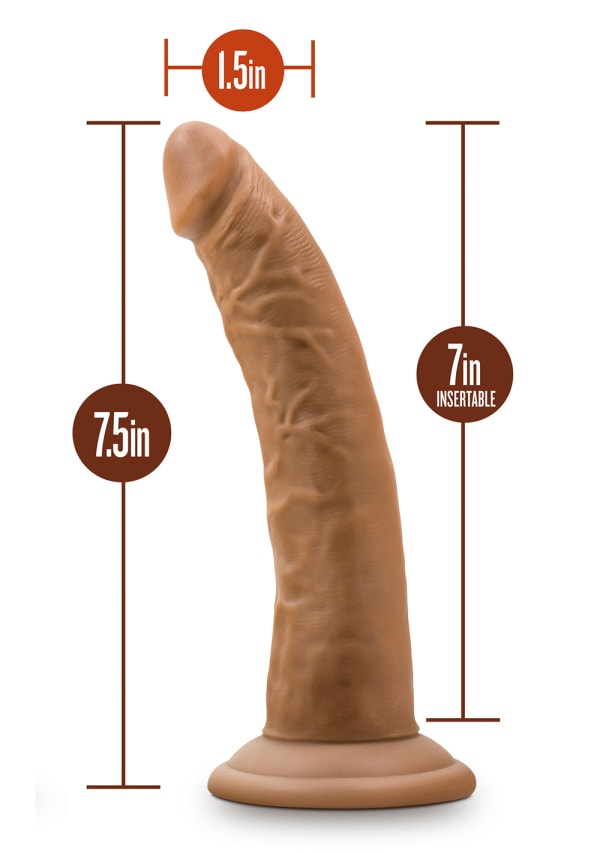 "Dr. Skin - 7"" Cock with Suction Cup Image 10"