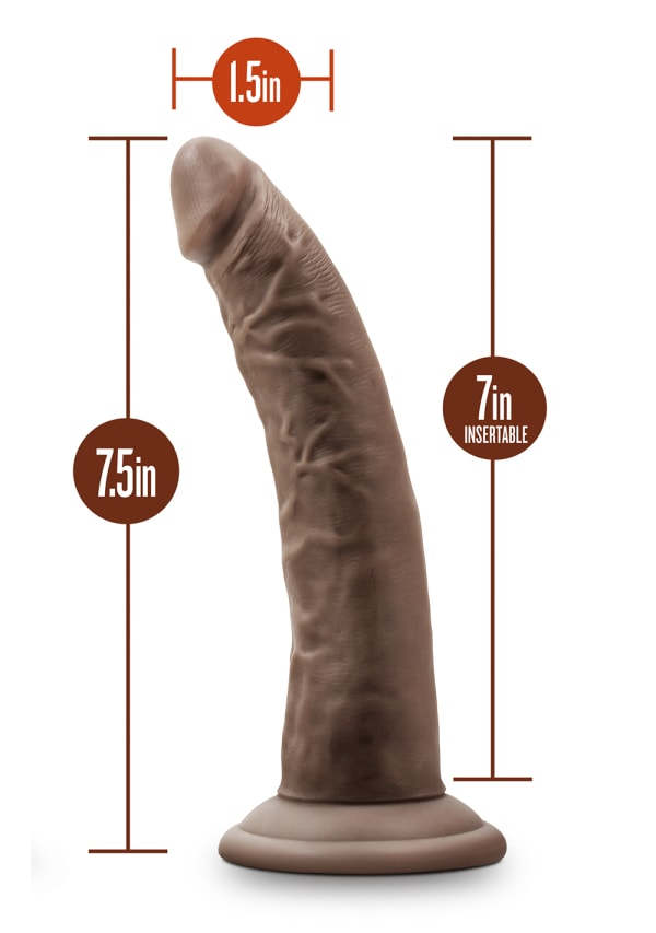"Dr. Skin - 7"" Cock with Suction Cup Image 17"