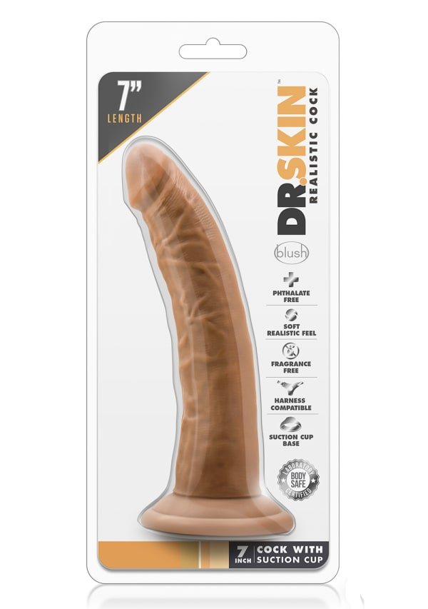 "Dr. Skin - 7"" Cock with Suction Cup Image 11"