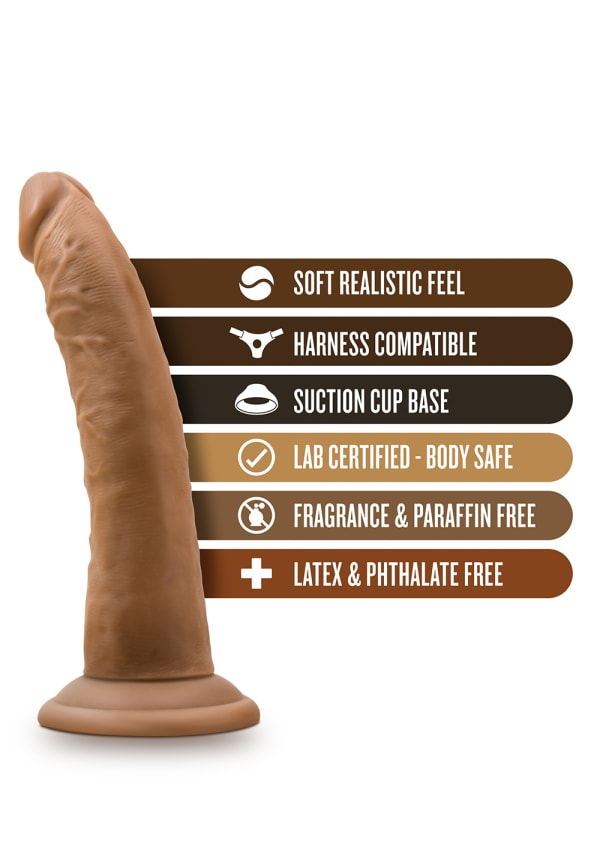 "Dr. Skin - 7"" Cock with Suction Cup Image 9"