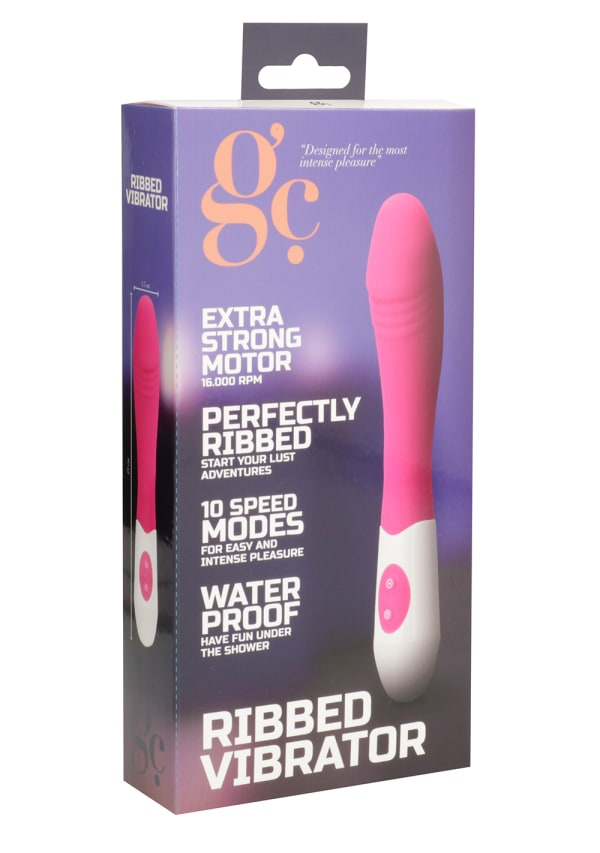 GC Ribbed Vibrator Image 3