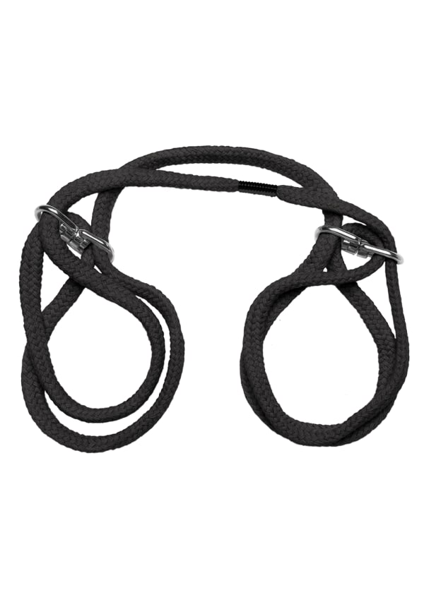 Japanese Style Bondage - 100% Cotton Wrist or Ankle Cuffs Image 4