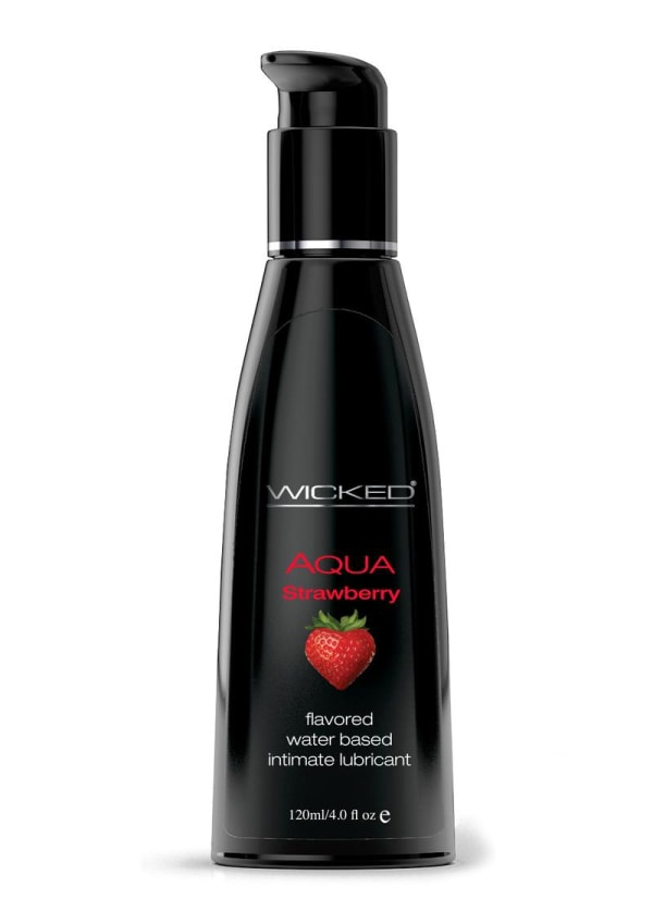 Wicked Aqua Strawberry Lubricant Image 1