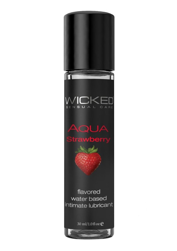 Wicked Aqua Strawberry Lubricant Image 0