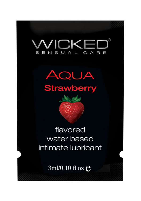 Wicked Aqua Strawberry Lubricant Image 2