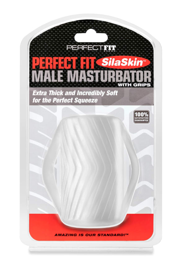 Perfect Fit Male Masturbator with Grips Image 4