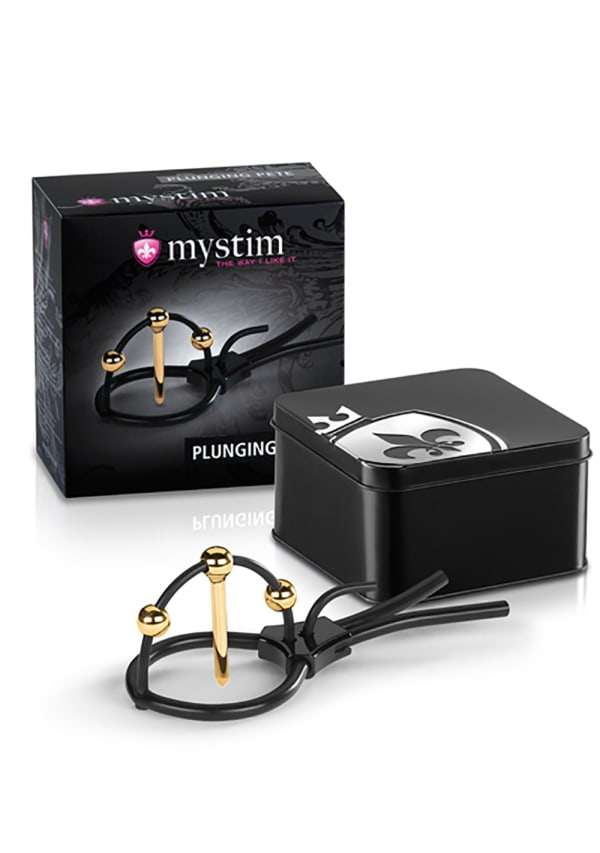 Mystim Plunging Pete with Corona Strap and Urethral Sound Image 1