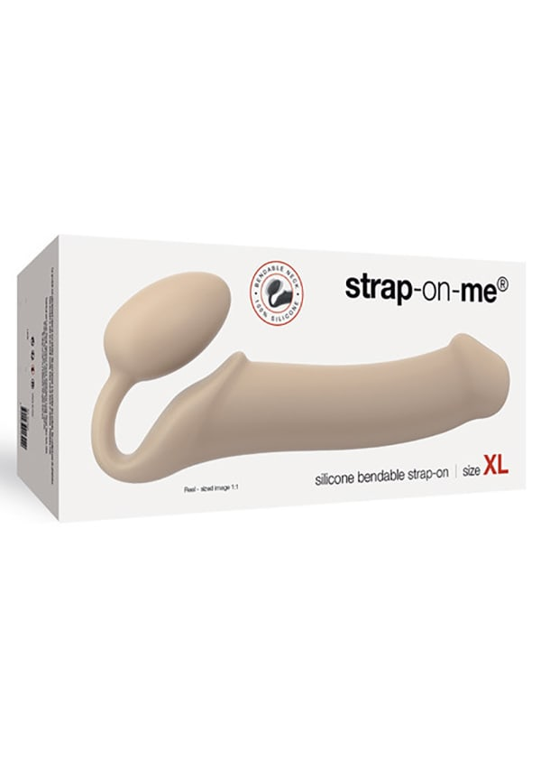 Strap On Me Silicone Bendable Strapless Strap-On XL Image 3