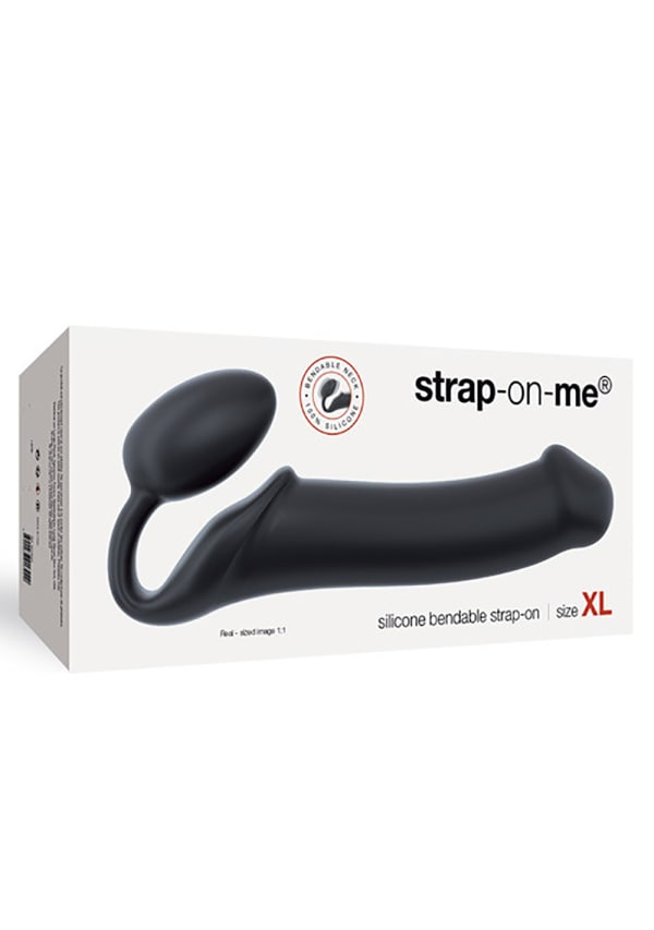 Strap On Me Silicone Bendable Strapless Strap-On XL Image 1