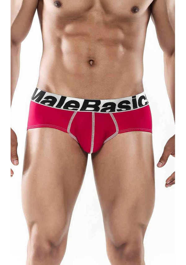 MaleBasics Men's Sports Performance Hip Brief Image 3