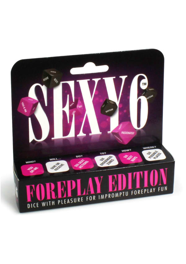 Sexy 6 Dice Game - Foreplay Edition Image 0