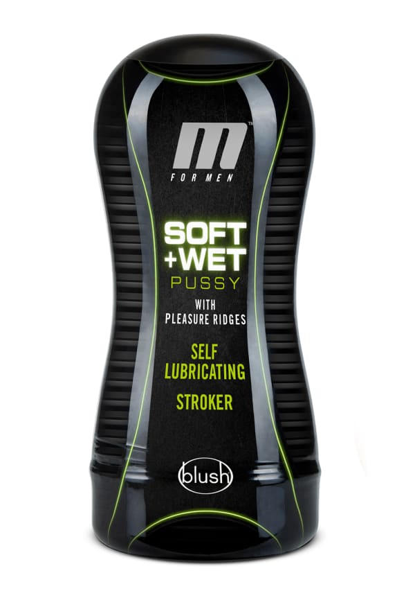 M for Men - Soft and Wet - Pussy with Pleasure Ridges - Self Lubricating Stroker Cup Image 6