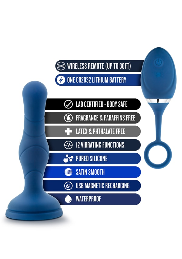 Performance Plus - Dynamo - Rechargeable Anal Plug Image 6