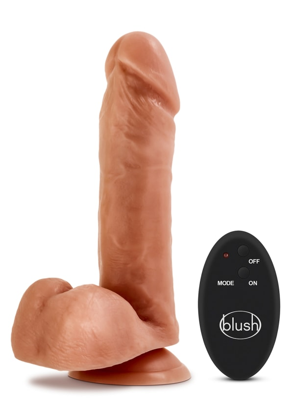 "Dr. Skin - 8"" 10 Function Wireless Remote Dildo Image 9"