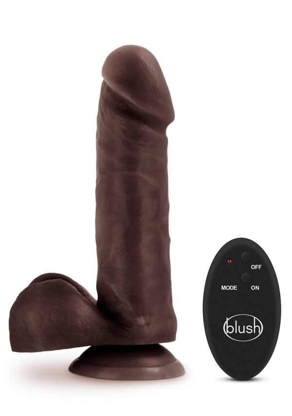 "Dr. Skin - 8"" 10 Function Wireless Remote Dildo Image 0"