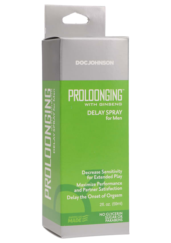 Proloonging with Ginseng - Delay Spray For Men Image 1
