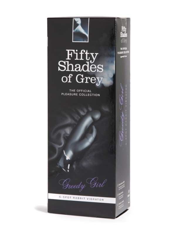 Fifty Shades of Grey Greedy Girl G-Spot Rabbit Vibrator Image 4