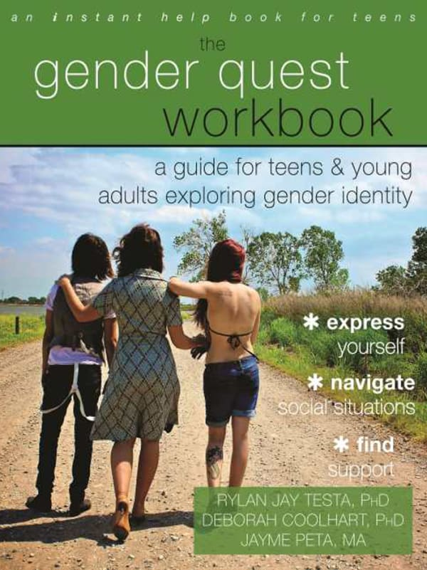 The Gender Quest Workbook: A Guide for Teens and Young Adults Exploring Gender Identity Image 0