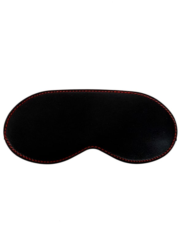 Red Stitch Blindfold Image 0