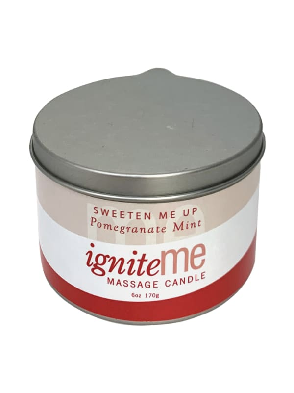 Ignite Me Massage Candle Sweeten Me Up (Pomegranate Mint) Image 0