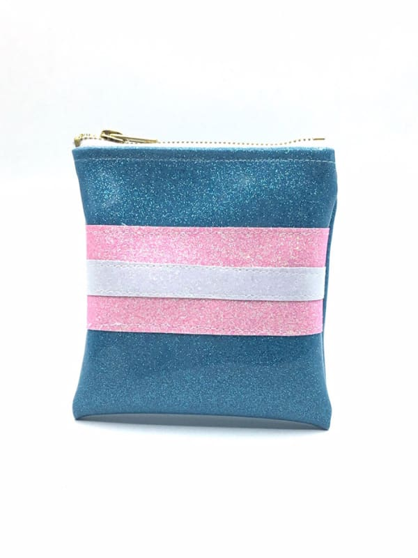 Trans Flag Mini Clutch Image 0