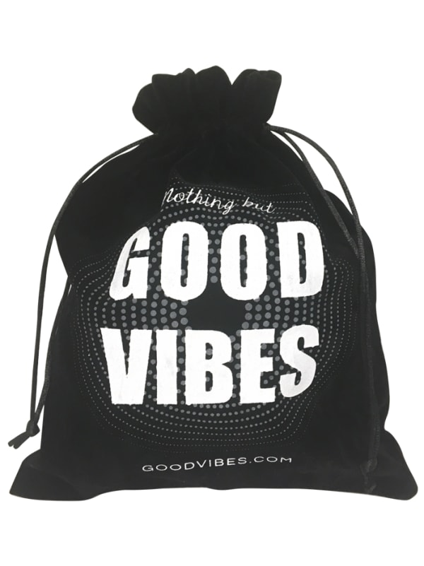 Good Vibrations Drawstring Bag Image 1