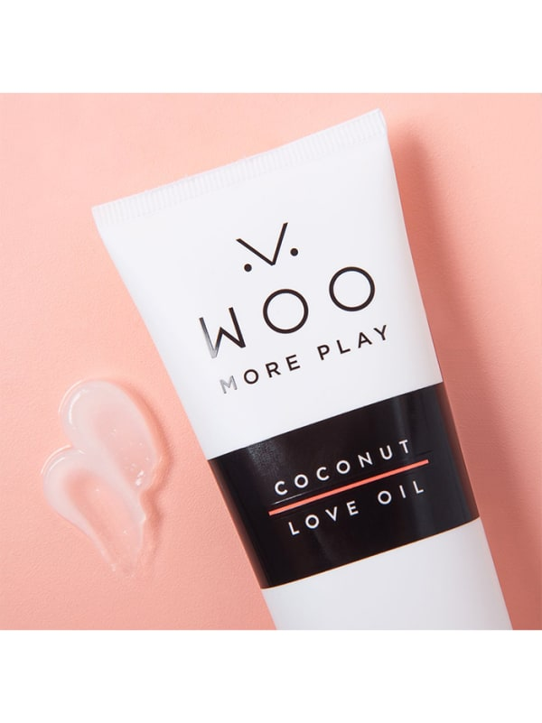 Woo More Play Coconut Love Oil 3.3 Fl Oz Image 1