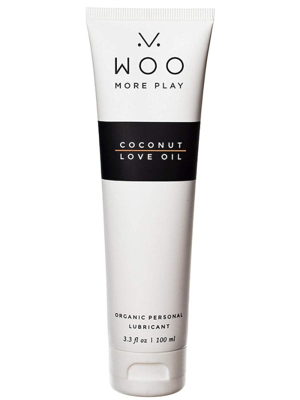 Woo More Play Coconut Love Oil 3.3 Fl Oz Image 0