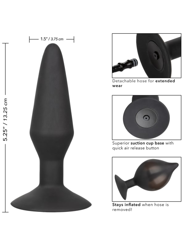 Silicone Inflatable Butt Plug Large Image 4