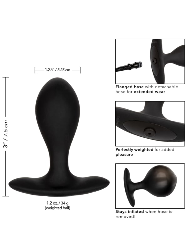 Silicone Weighted Inflatable Plug Image 5