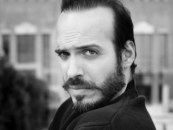 Actor Dimitris Danampasis Acting Headshots