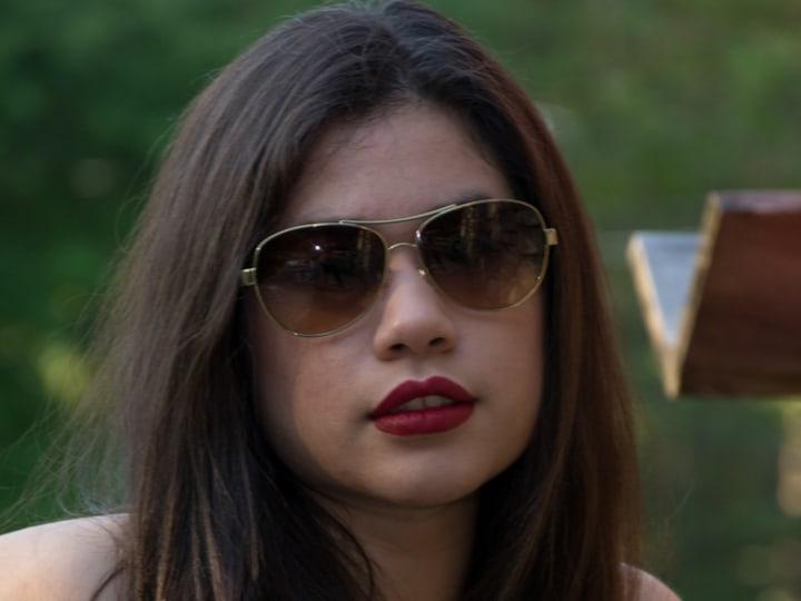 Actress Ileana Carranza