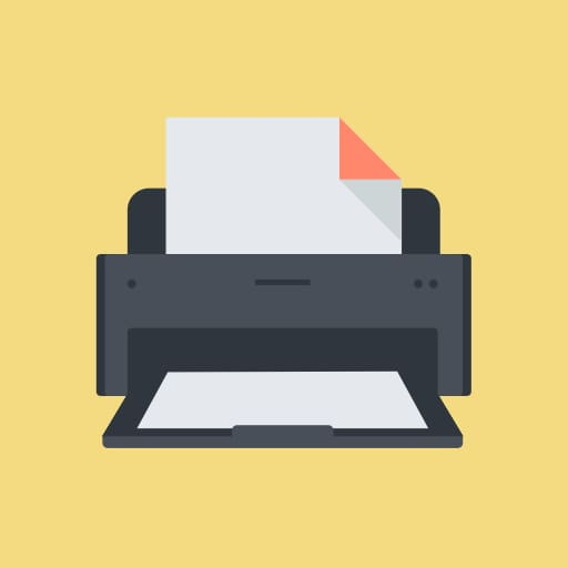 Have you ever tried to print your actor website?
